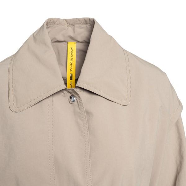 Beige trench coat with bavolet                                                                                                                         MONCLER 1952