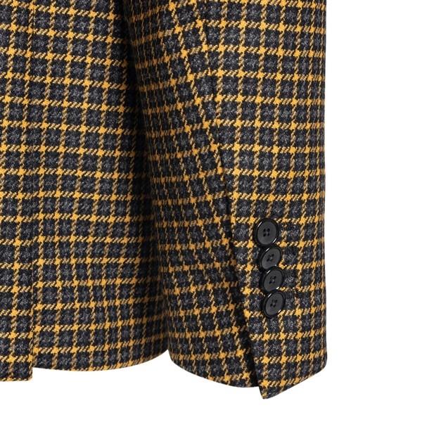 Yellow checked blazer                                                                                                                                  TAGLIATORE