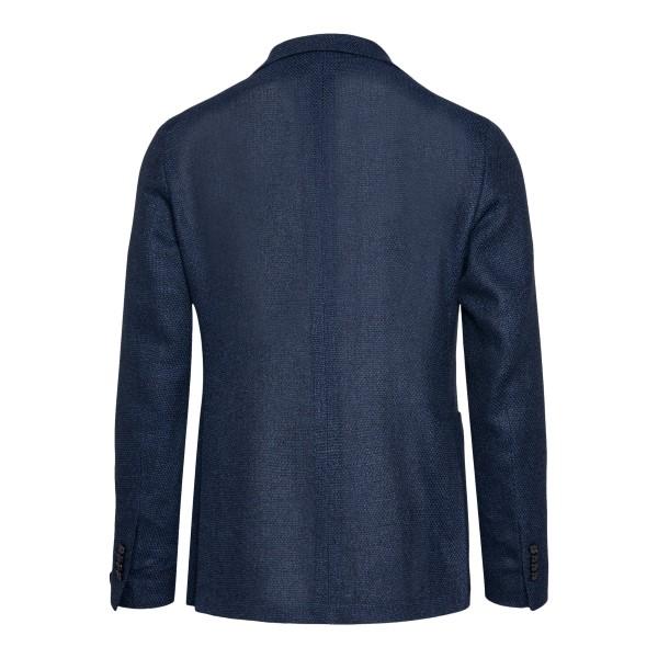 Blazer blu scuro con applicazione logo                                                                                                                 TAGLIATORE                                         TAGLIATORE