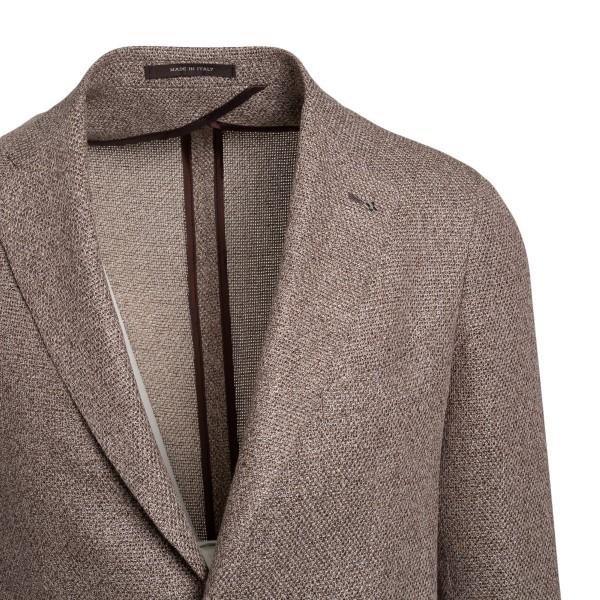 Grey single-breasted blazer                                                                                                                            TAGLIATORE