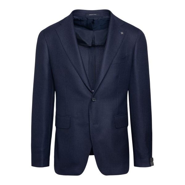 Classic blue blazer                                                                                                                                   Tagliatore 1SVS22B back