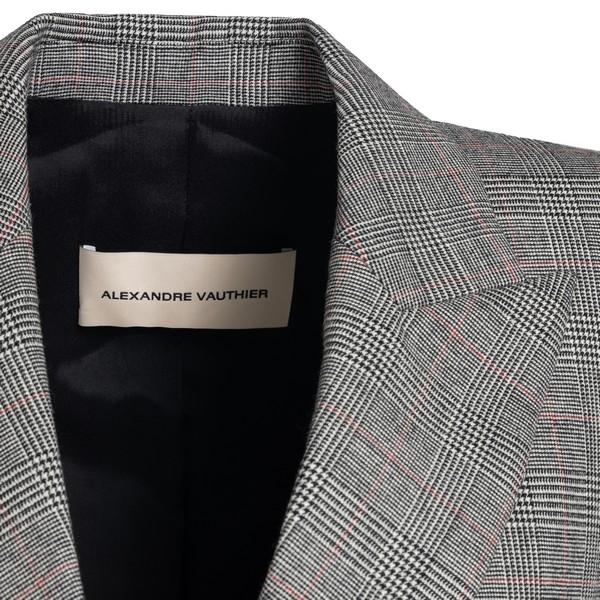 Blazer in principe di Galles                                                                                                                           ALEXANDRE VAUTHIER                                 ALEXANDRE VAUTHIER