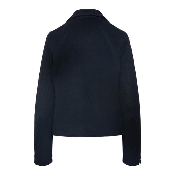 Cappotto corto nero con zip                                                                                                                            ANN DEMEULEMEESTER