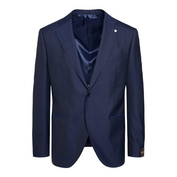 Dark blue elegant blazer                                                                                                                              Lubiam 2305 back