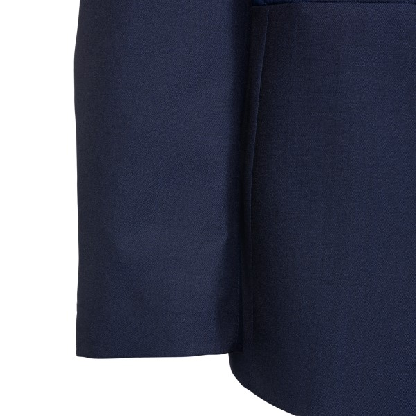 Dark blue elegant blazer                                                                                                                               LUBIAM