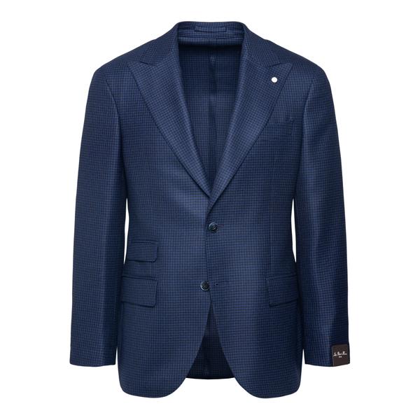 Blazer blu elegante                                                                                                                                   Lubiam 2407 retro