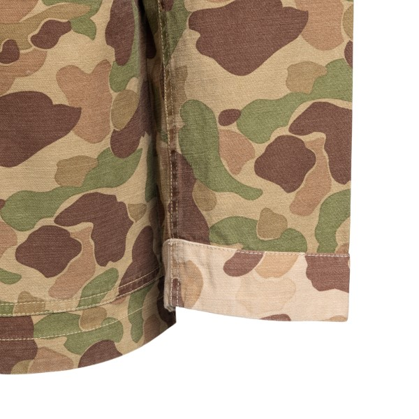 Giacca a camicia in stampa camouflage                                                                                                                  UNIVERSAL WORKS UNIVERSAL WORKS