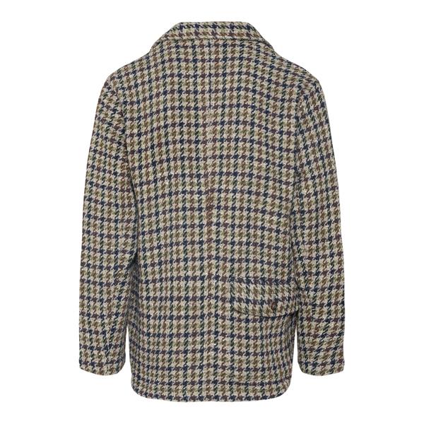 Houndstooth shirt jacket                                                                                                                               UNIVERSAL WORKS