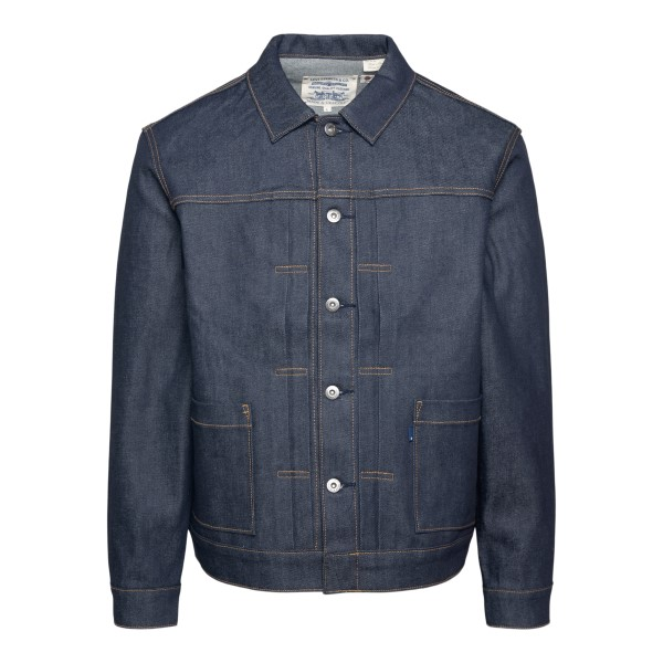 Dark blue denim jacket                                                                                                                                Levi's 28943 back