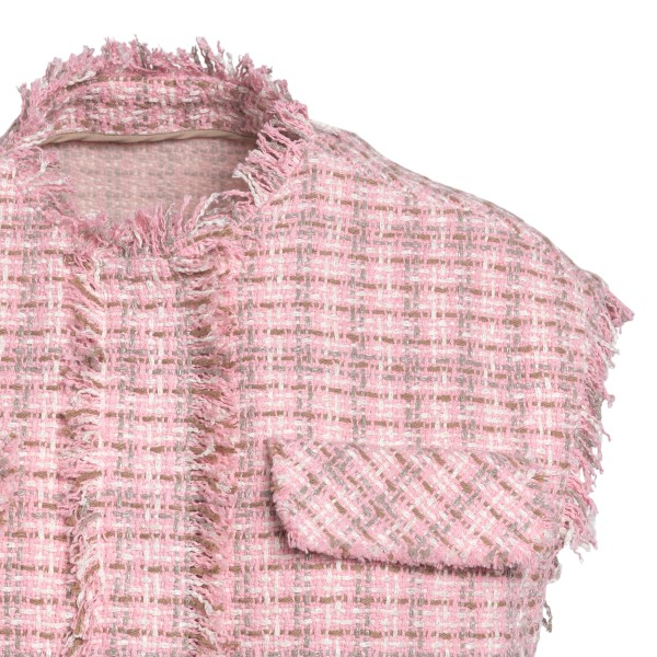 Giacca rosa senza maniche                                                                                                                              MSGM MSGM