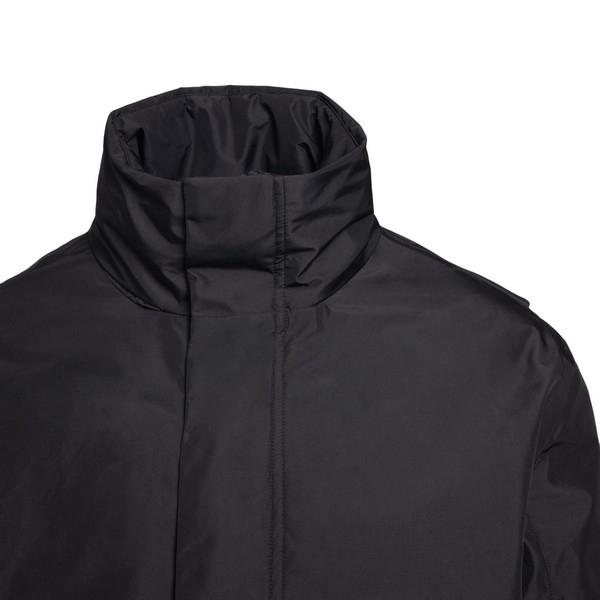 Medium length black raincoat                                                                                                                           ELVINE
