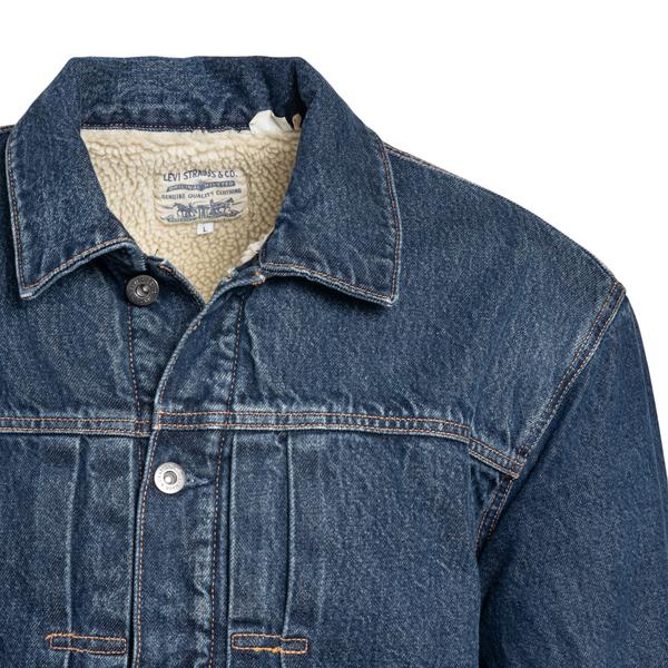 Blue denim jacket                                                                                                                                      LEVI'S