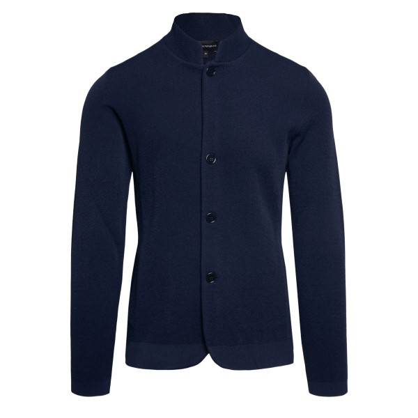 Cardigan blu                                                                                                                                          Emporio Armani 3K1GY1 retro