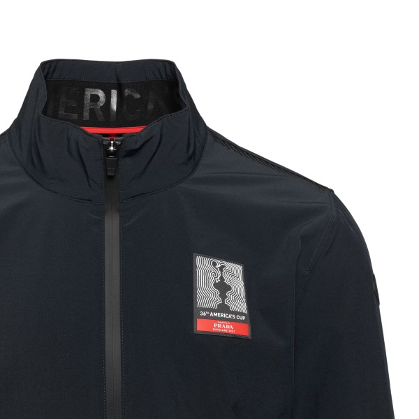 Black jacket with logo patch                                                                                                                           NORTH SAILS