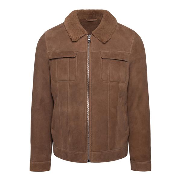 Brown suede jacket                                                                                                                                     SWORD