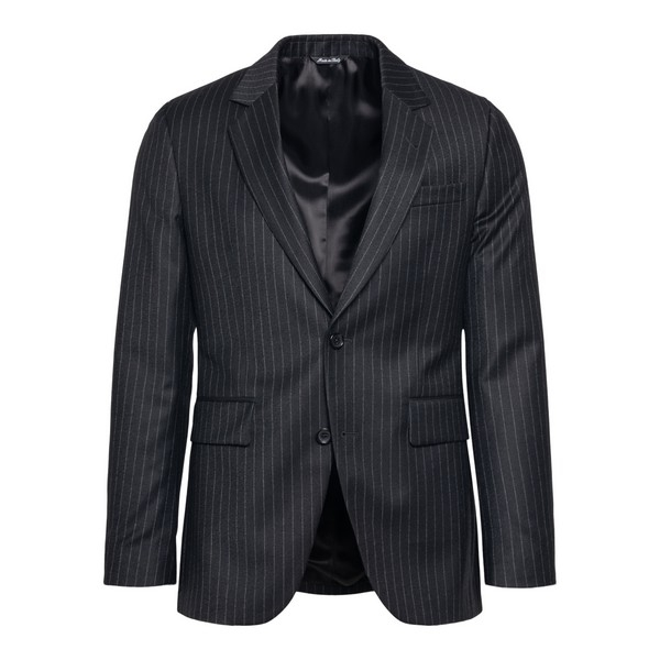 Grey striped blazer                                                                                                                                   Reveres 540570 front