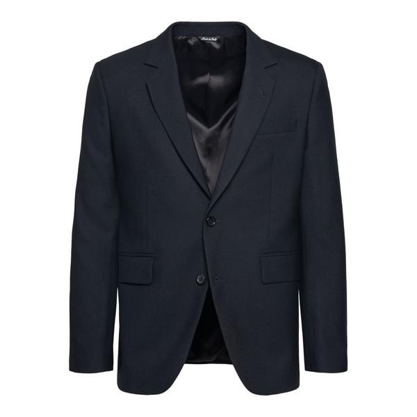 Classic black blazer                                                                                                                                  Reveres 540570 front
