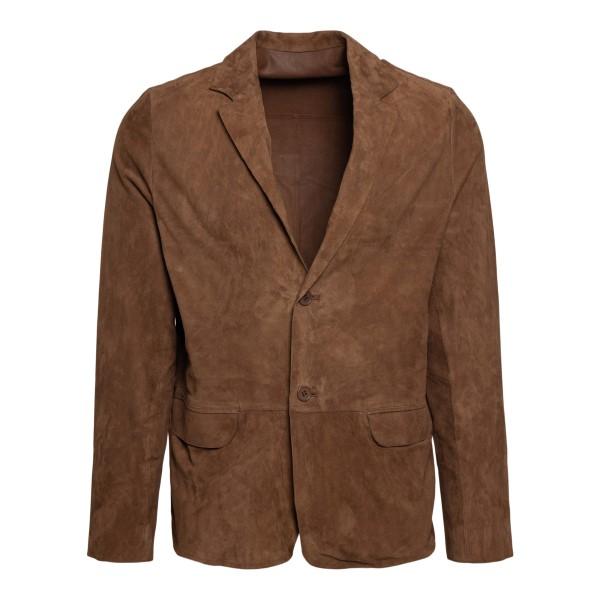 Brown suede jacket                                                                                                                                    Sword 5424 back