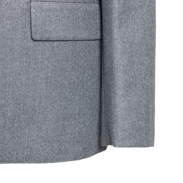 Blazer in gray with single-breasted button                                                                                                             STELLA MCCARTNEY