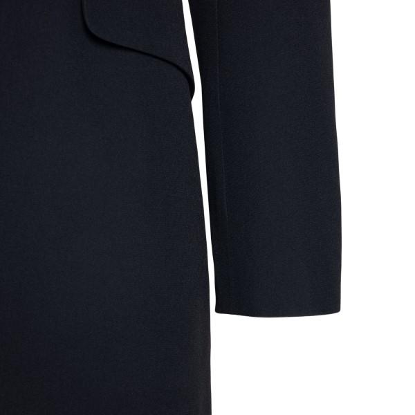 Black blazer with drapery                                                                                                                              ALEXANDER MCQUEEN