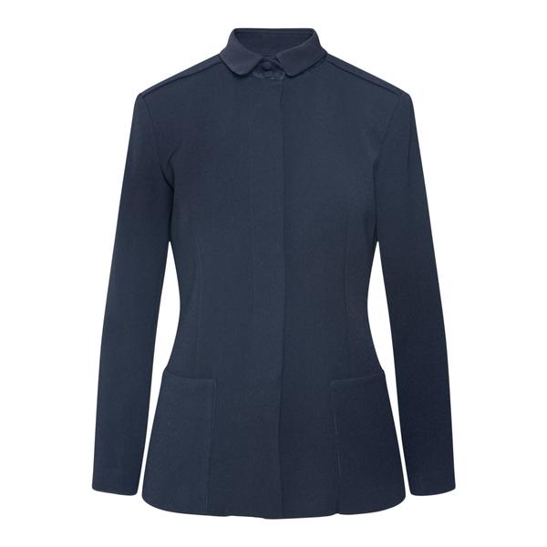 Blue jacket with hidden closure                                                                                                                       Emporio Armani 6K2G68 back