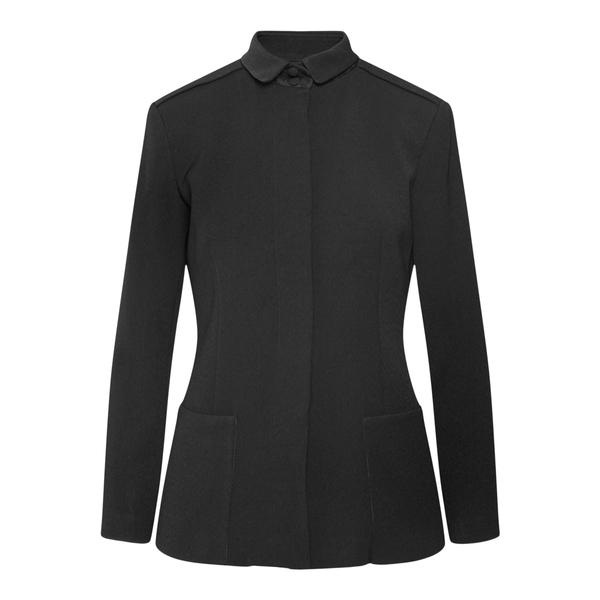 Shirt jacket in black color                                                                                                                           Emporio Armani 6K2G68 back