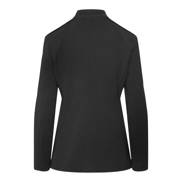 Shirt jacket in black color                                                                                                                            EMPORIO ARMANI