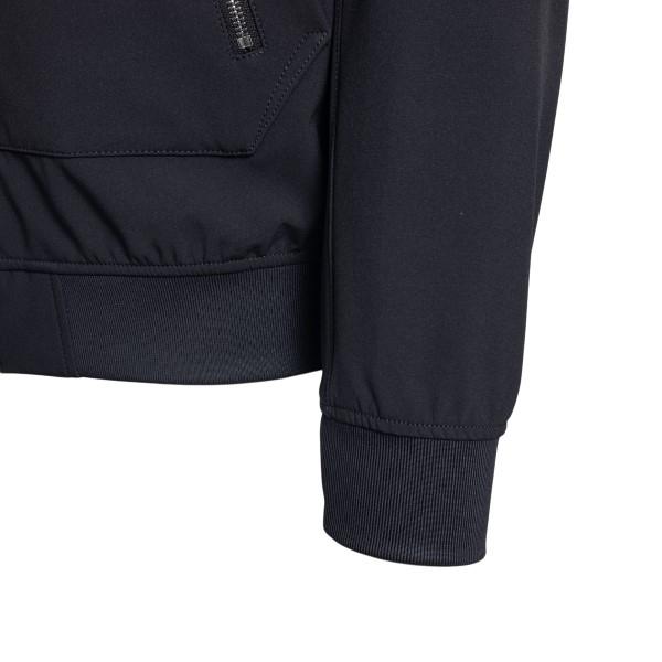Blue sweatshirt with zip                                                                                                                               STONE ISLAND