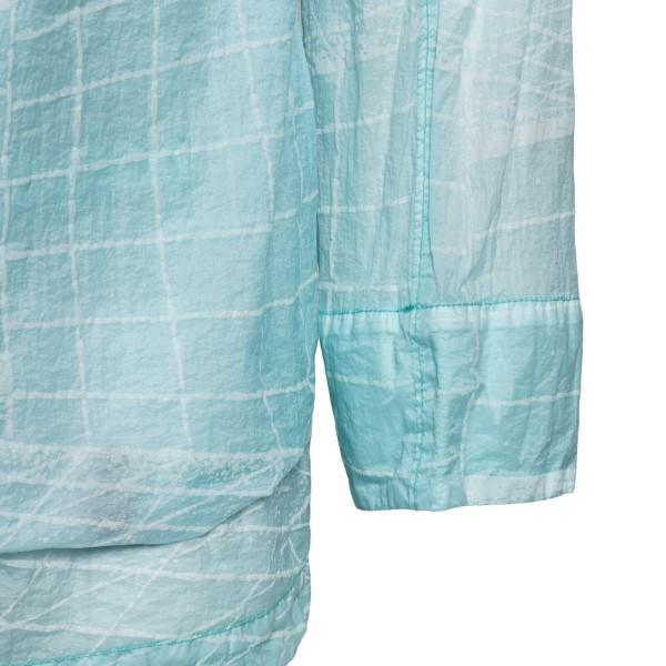 Semi-transparent light blue waterproof jacket                                                                                                          STONE ISLAND