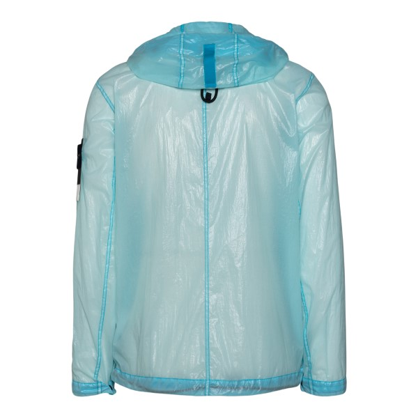 Semi-transparent light blue jacket                                                                                                                     STONE ISLAND