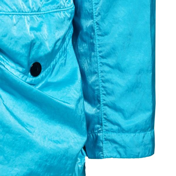 Light blue jacket with multiple pockets                                                                                                                STONE ISLAND