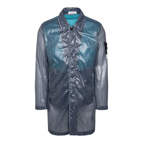 Semi-transparent grey raincoat                                                                                                                         STONE ISLAND