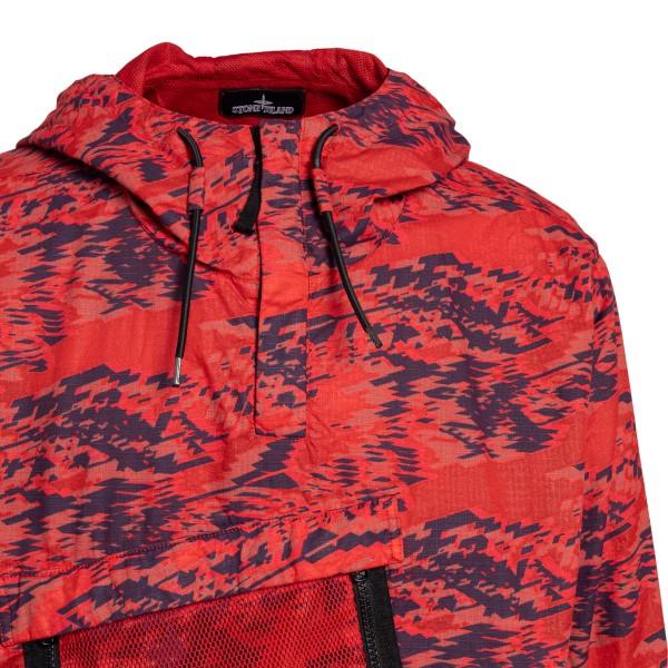 Giacca rossa con taschine in rete                                                                                                                      STONE ISLAND SHADOW PROJECT STONE ISLAND SHADOW PROJECT
