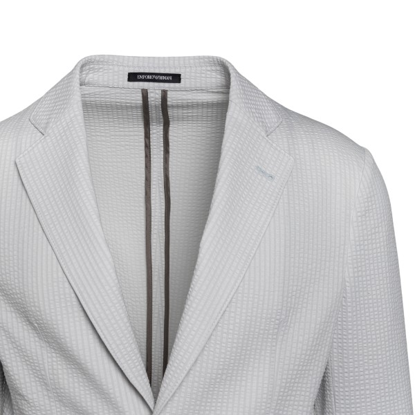 Light grey blazer                                                                                                                                      EMPORIO ARMANI