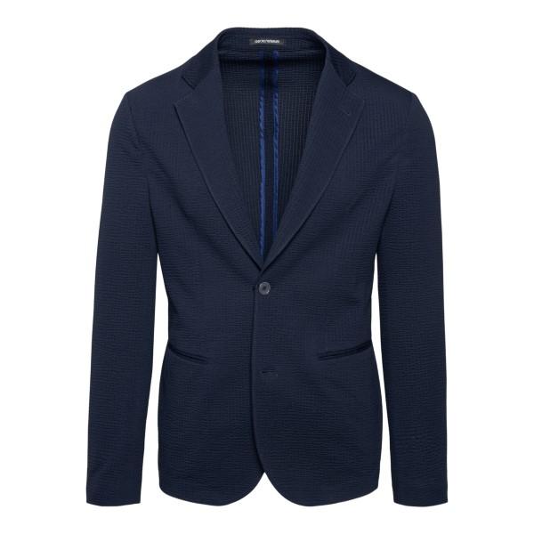 Classic blue blazer                                                                                                                                   Emporio Armani A1G870 back