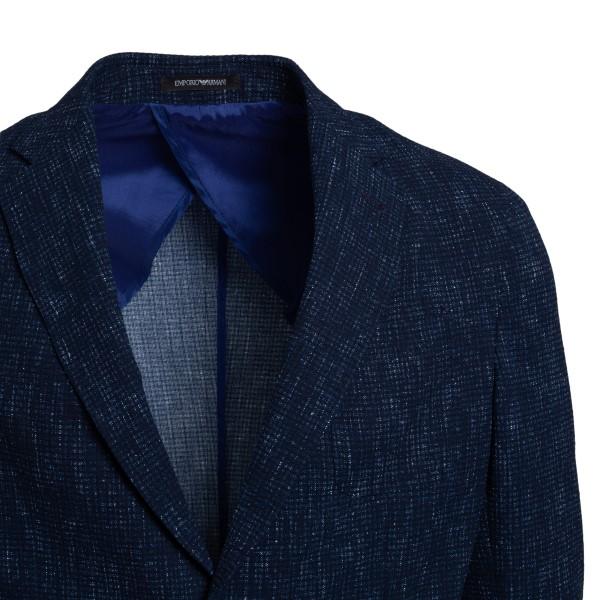 Blazer blu con sfumature                                                                                                                               EMPORIO ARMANI EMPORIO ARMANI