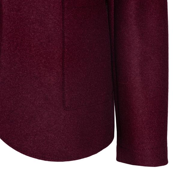 Classic burgundy red blazer                                                                                                                            HARRIS WHARF LONDON