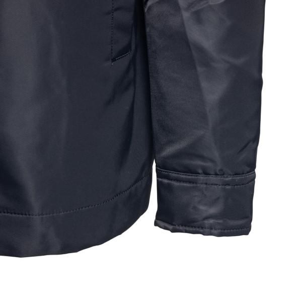 Black jacket with metallic logo                                                                                                                        ALYX