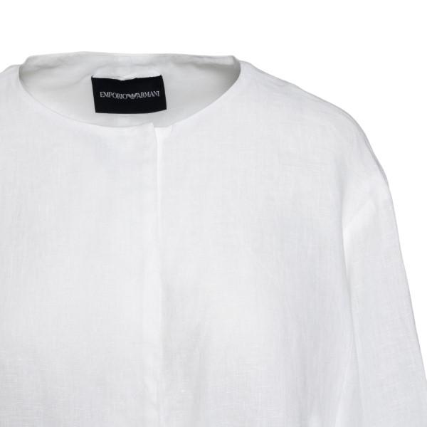Blusa bianca leggera                                                                                                                                   EMPORIO ARMANI EMPORIO ARMANI
