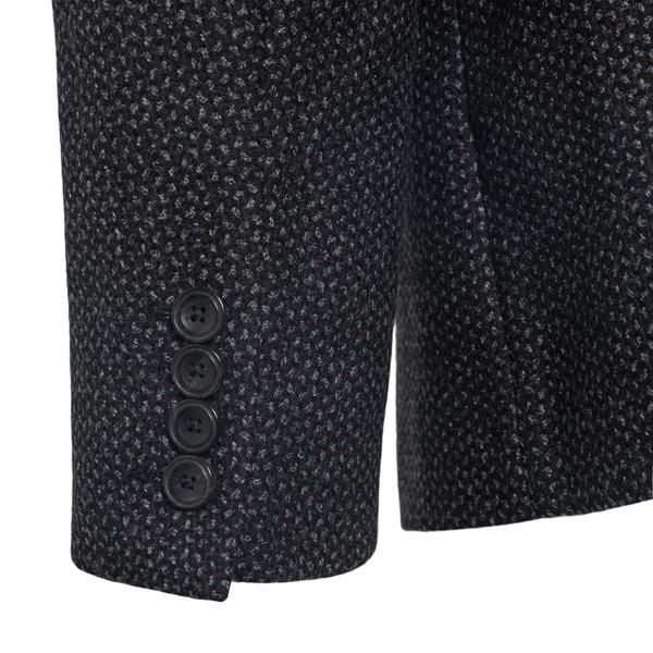 Blazer grigio con texture                                                                                                                              EMPORIO ARMANI EMPORIO ARMANI