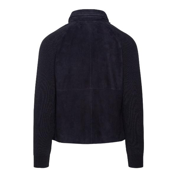 Suede jacket                                                                                                                                           EMPORIO ARMANI