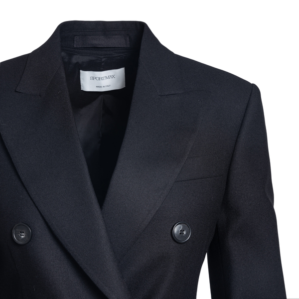 Double-breasted jacket                                                                                                                                 SPORTMAX