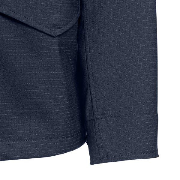 Blue jacket with multiple pockets                                                                                                                      ASPESI
