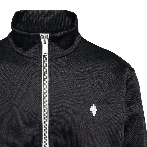 Black sports jacket with logo embroidery                                                                                                               MARCELO BURLON