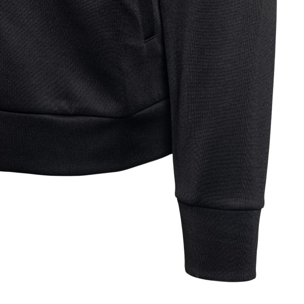 Black sports jacket with logo embroidery                                                                                                               MARCELO BURLON