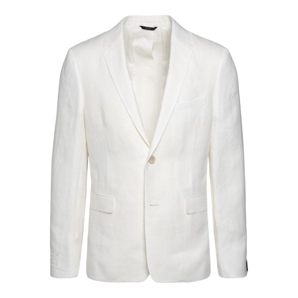 Blazer bianco con bottoni sul retro                                                                                                                    FENDI                                              FENDI