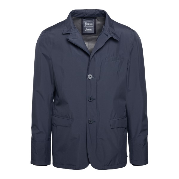 Blue jacket with buttons                                                                                                                              Herno GA017UL front