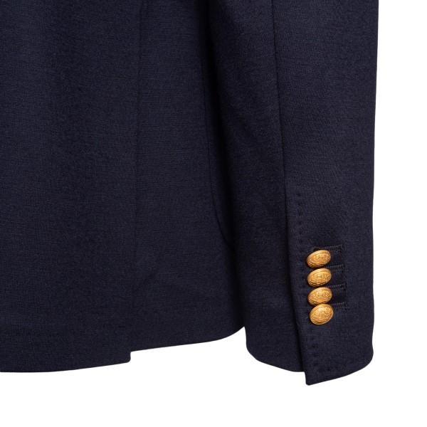 Blazer blu a doppiopetto con bottoni oro                                                                                                               TAGLIATORE TAGLIATORE