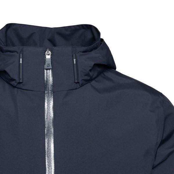 Giacca blu scuro con zip                                                                                                                               HERNO HERNO