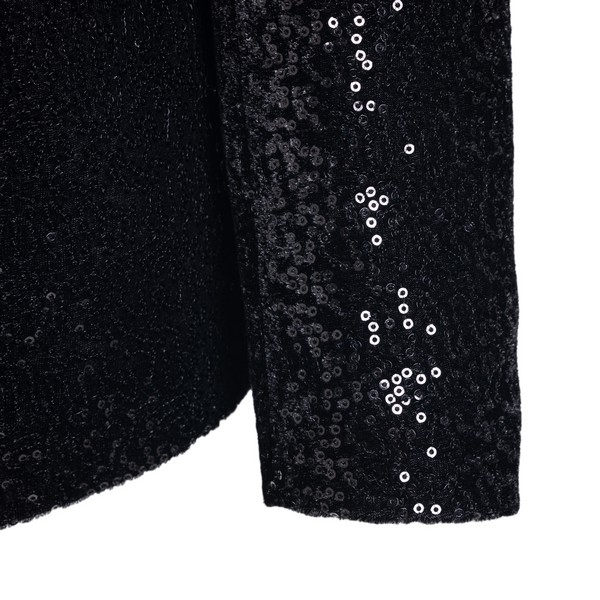 Black blazer with sequins                                                                                                                              TAGLIATORE